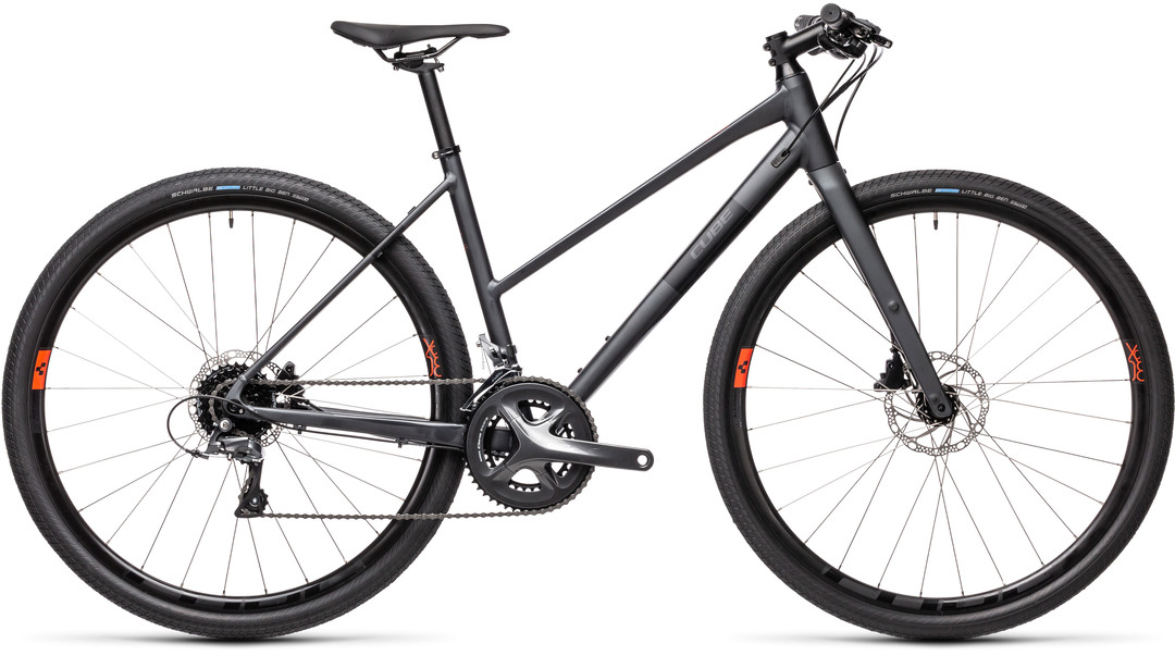 CUBE SL Road iridium´n´black